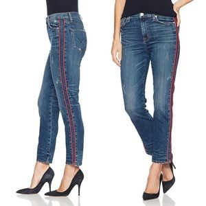 Hudson 'Zooey' High Rise Ankle Jeans